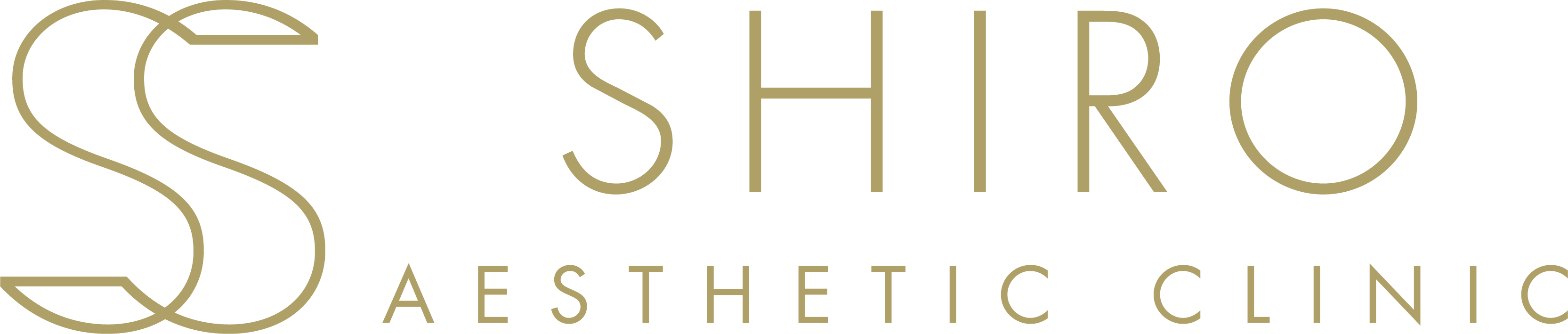 shiro aesthetic clinic logo